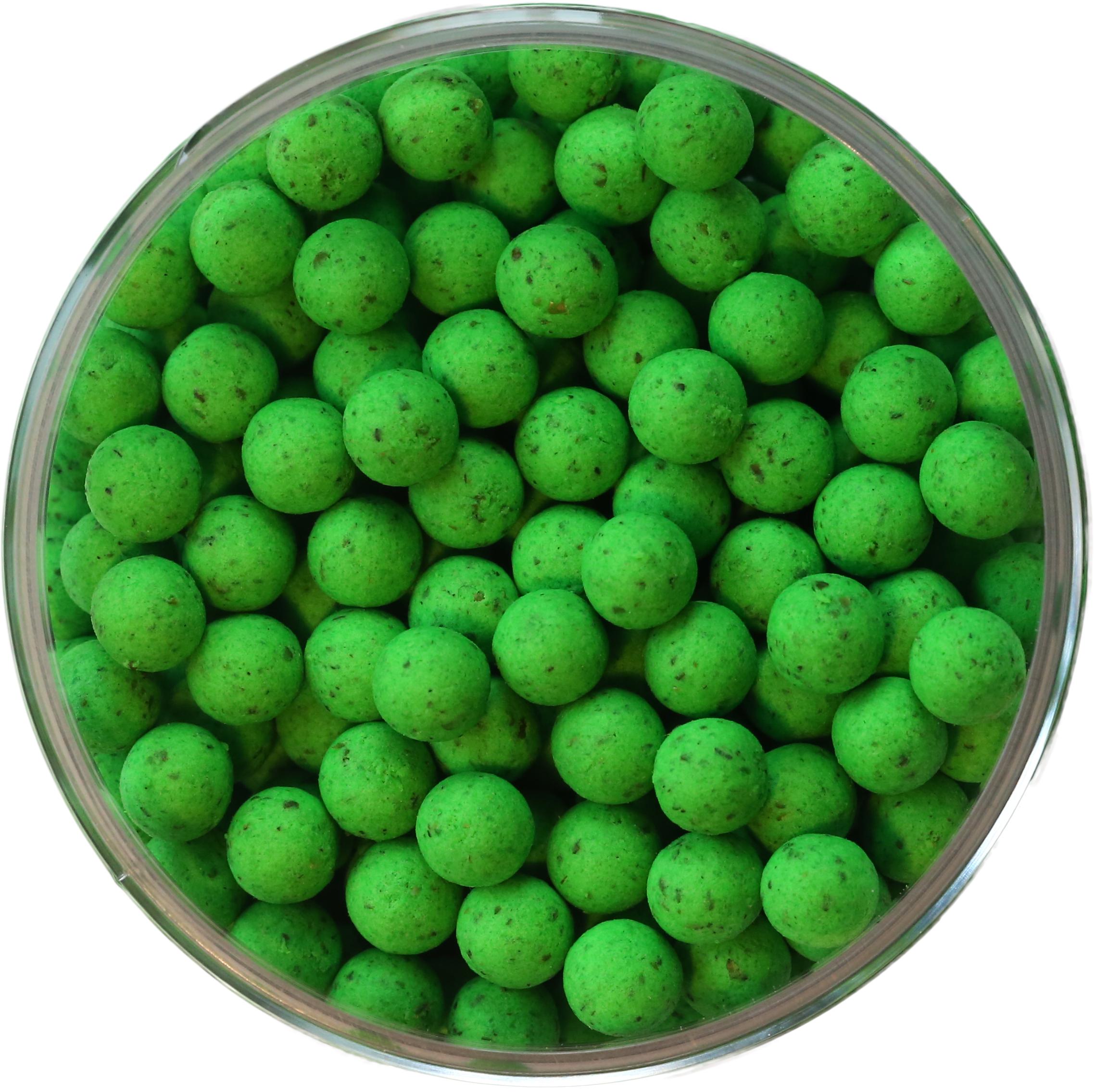 Mini Pop Up bojli Natúr - Zöld - Mini Pop Up bojli Natúr - Green