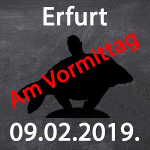 Workshop - Erfurt - 09.02.2019. von 9:00 - 13:00 - Workshop - Erfurt - 09.02.2019. von 9:00 - 13:00