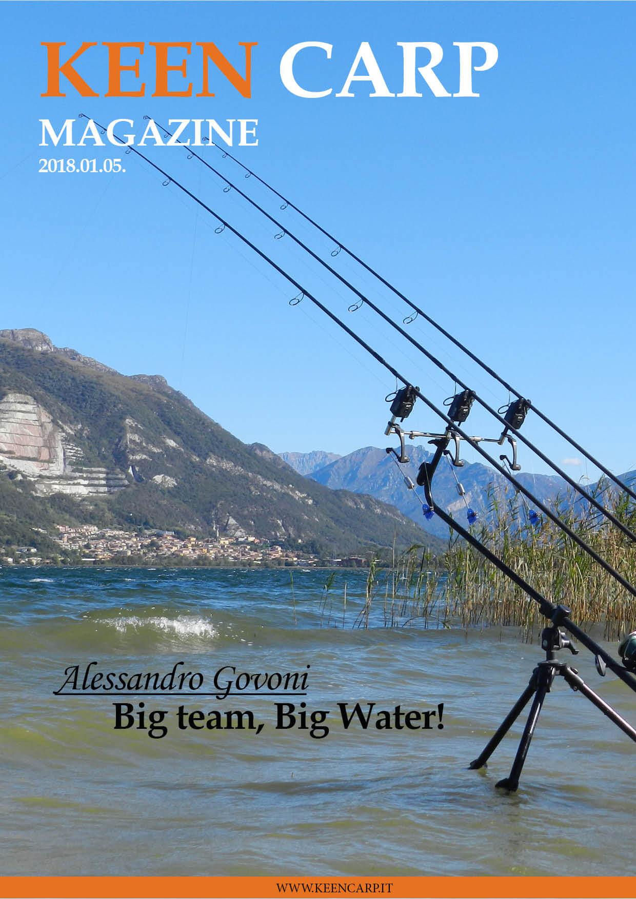 Big team, Big Water!